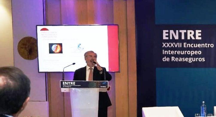 ENTRE 2019 – José Ramón Jócano presenta el informe El Reaseguro en España