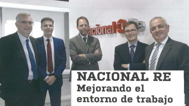 Nacional Re modernizes the corporate brand and head office