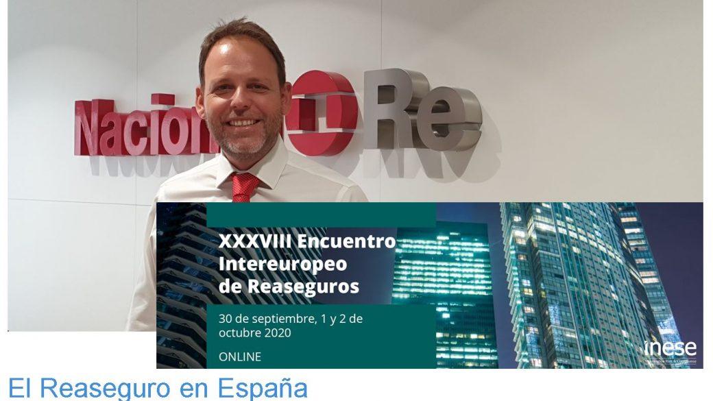 ENTRE 2020 – David Santos presenta el informe El Reaseguro en España